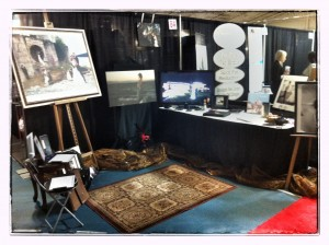 2013 Victoria Bridal expo Jesse Hlady Photography booth
